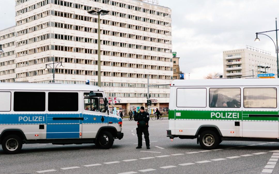 2016/02/23: Demo gegen den Polizeikongress