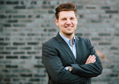 Max Ferdinand Kunz, Gründer und Geschäftsführer von Instaff.jobs