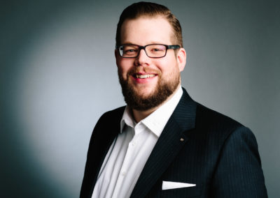Björn Fuchs, Ressort Training. Portraits für den Bundesvorstand der Wirtschaftsjunioren Deutschland