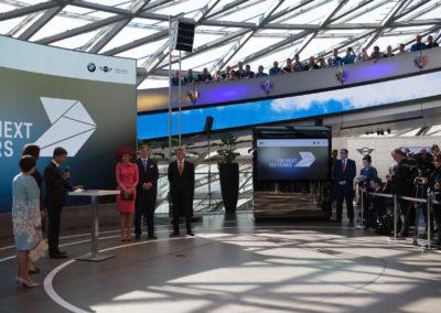 Besuch des Königspaars der Niederlande bei BMW in München
