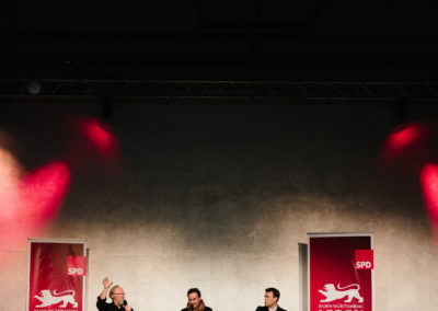 Wolfgang Thierse SPD, Vizepräsident des Deutschen Bundestags und Nils Schmid SPD, Vizeministerpräsident von Baden-Württemberg