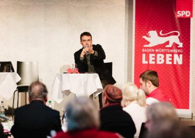 Nils Schmid SPD, Vize Ministerpräsident von Baden-Württemberg