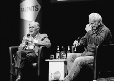 Michael Ballhaus, Kameramann und Jim Rakete, Fotograf bei der Berlinale