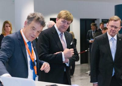 Willem-Alexander, König der Niederlande und Bodo Ramelow, Ministerpräsident von Thüringen