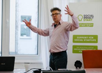 Thorsten Jahnke, Mitgründer des Social Impact Lab