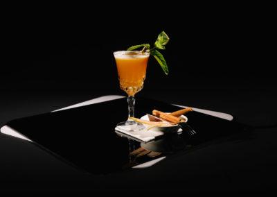 Cocktail bei einem Cocktailwettbewerb