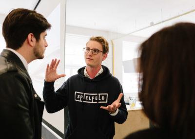 Tobias Rappers, Managing Director Spielfeld Hub