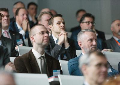 Ein Teilnehmer der Niederländischen Wirtschaftsdelegation